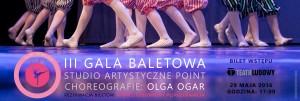 BILETY III GALA BALETOWA STUDIO ARTYSTYCZNE POINT